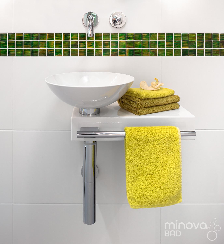 Waschbecken nach Kleinbad-Renovierung  Nr. 11