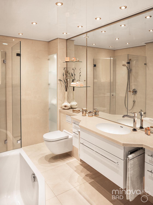 Kleinbad renovieren mit Minova Bad - Alles aus einer Hand! Farbe