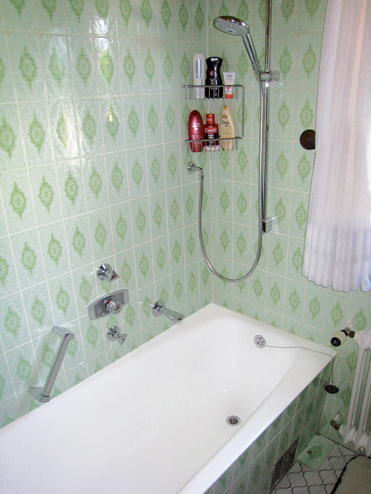 Minova Bad | Kosten bei Kleinbad-Teilrenovierung - vorher