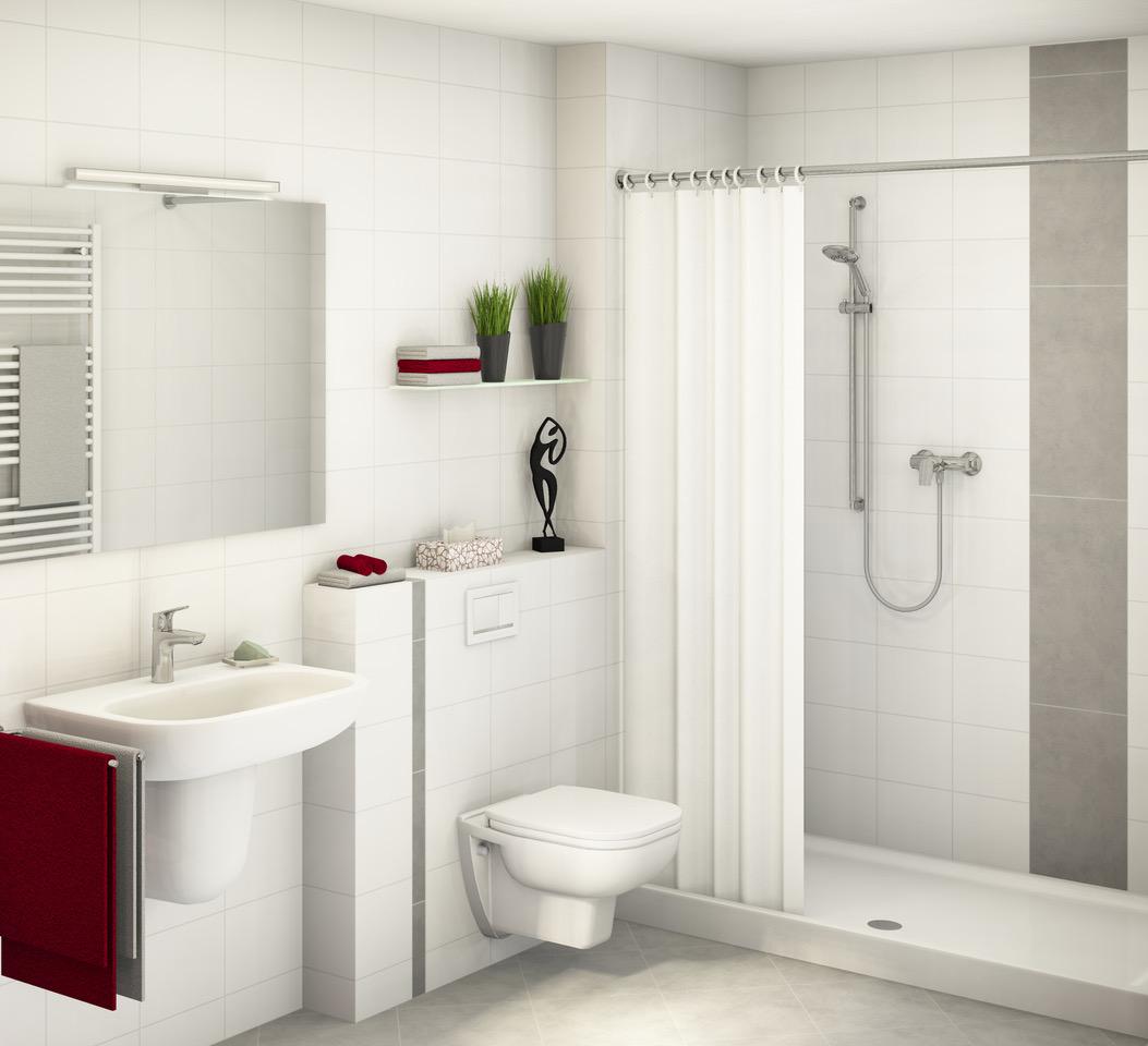 Minova Bad | Kosten bei Standard Ausstattung bei einer Kleinbad Renovierung